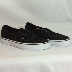 NWT Vans Authentic Black Unisex Sneakers